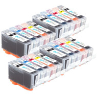 4 Compatible Sets of 5 HP 364 (HP364XL) Printer Ink Cartridges