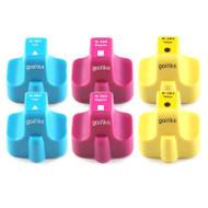 2 Compatible Sets of 3 C/M/Y HP 363 (HP363XL) Printer Ink Cartridges (Colour Set)
