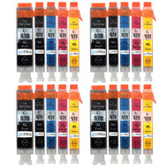 4 Compatible Sets of 5 PGI-570 & CLI-571 Printer Ink Cartridges