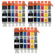 3 Compatible Sets of 6 PGI-570 & CLI-571 Printer Ink Cartridges