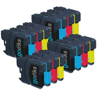 4 Sets of Compatible Brother LC985 Printer Inks Cartridges
