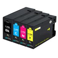 1 Compatible Set of 4 PGI-1500XL Printer Ink Cartridges