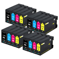4 Compatible Sets of 4 PGI-1500XL Printer Ink Cartridges