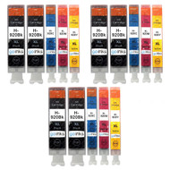 3 Compatible Sets of 4 + Extra Black HP 920 (HP920XL) Printer Ink Cartridges