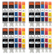 4 Go Inks Compatible Set of 4 + Extra Black to replace HP 920 Printer Ink Cartridge (20 Inks) - Black, Cyan,  Magenta, Yellow Compatible / non-OEM for HP Photosmart Printers