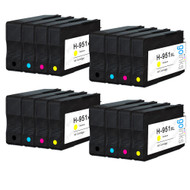 4 Go Inks Compatible Set of 4 to replace HP 950 & 951 Printer Ink Cartridge (16 Inks) - Black, Cyan,  Magenta, Yellow Compatible / non-OEM for HP Photosmart Printers