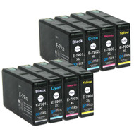 2 Go Inks Set of 4 Ink Cartridges to replace Epson T7906 (79XL Series) Compatible/non-OEM for Epson WorkForce Pro  Printers  (8 Inks)