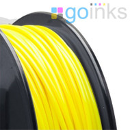 Go Inks Yellow 3D Printer Filament - 1KG - ABS - 1.75mm. Dimensional Accuracy +/- 0.05mm