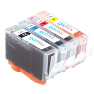 1 Compatible Set of 4 Canon PGI-5 & CLI-8 Printer Ink Cartridges