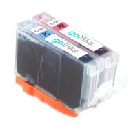1 Compatible Set of Canon CLI-8PC & CLI-PM Printer Ink Cartridges (Photo Set)