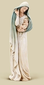 """12"""" Madonna with Child Statue"""