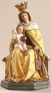 "8"" Our Lady of Mt. Carmel Statue Renaissance Collection"