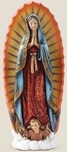 "7.25"" Our Lady of Guadalupe"