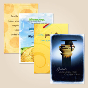 Boxed Contemporary Graduation Cards - with Scripture