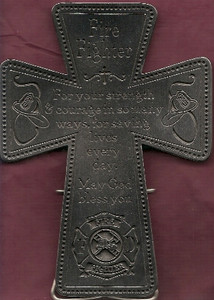 Pewter Firefighter Cross