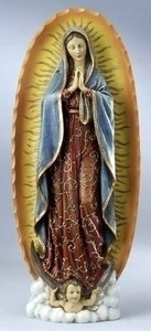 "18.5"" Our Lady of Guadalupe Statue Joseph's Studio Collection"