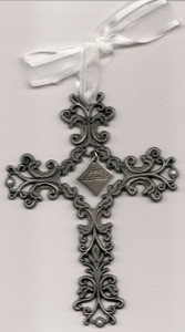 Bless This Child Filigree Cross