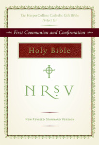 Catholic NRSV Gift Bible - Burgundy