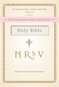 Catholic NRSV Gift Bible - White