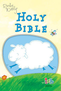 Really Woolly Children's Bible Blue Leathersoft