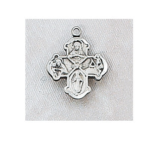 Sterling Silver 4-Way Baby Necklace