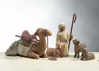 Shepherd and Stable Animals Willow Tree® Nativity