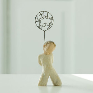 Birthday Boy Willow Tree® Figure