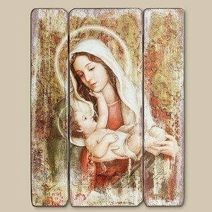A Child's Touch - Madonna & Child Wall Art