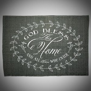 God Bless This Home Rug
