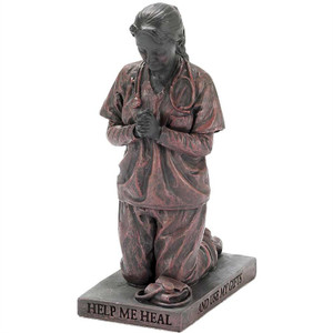 Kneeling Nurse Figurine