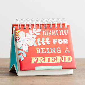 Thank You For Being A Friend  365 DayBrightener Calendar