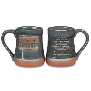 Man of Strength Pottery Mug