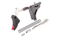 Zev Pro Trigger Ultimate Kit for Glock Gen 1-3 with Red Trigger Safety (CFT-PRO-ULT-3G9-B-R)