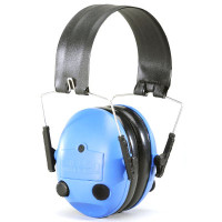 Dillon Precision HP1 Electronic Ear Muff Hearing Protection Blue 10157