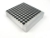 100-Hole 38 Super Comp / TJ / Rimless Hundo Chamber Checker Cartridge Case Gauge by Shockbottle