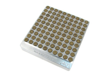 100-Hole 40 S&W Extra Large & Long Chamber Checker Cartridge Case Gauge - Great for Moly and Lead 40XL Hundo Casegauge