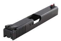 Dawson Precision Glock Fixed Competition Sight Set - Black Rear & Fiber Optic Front