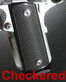 Techwell Grips for 1911 for Techwell Magwells Checkered