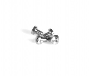 1911 / 2011 Grip Screws Hex (Pkg of 4) in Stainless Steel by EGW (11380)