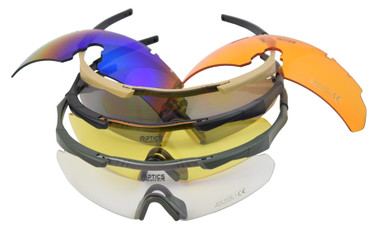 DAA Optics Bravo Elite Eye Protection Glasses Set by Double Alpha Academy