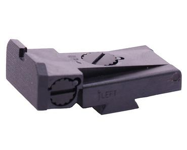 Dawson Precision LPA Cut Adjustable Black Rear Sight
