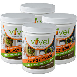 Vive Whole Food Nutritional Supplement One Month Supply - Energy Spice (Chai)