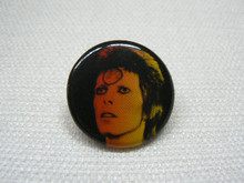 David Bowie Ziggy Stardust Button