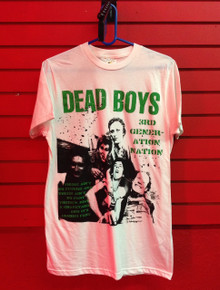 Dead Boys Third Generation T-Shirt in White
