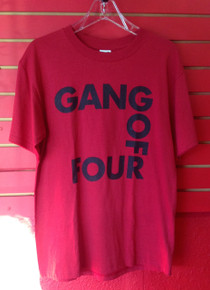 Gang of Four Logo T-Shirt - Red