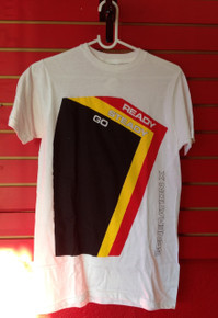 Generation X Ready Steady Go T-Shirt in White
