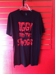 Iggy Pop and the Stooges Blood Letters T- Shirt