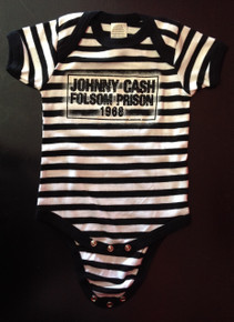 Johnny Cash Folsom Prison Onesie