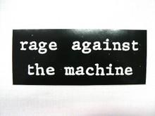 Rage Against the Machine Bumper Sticker