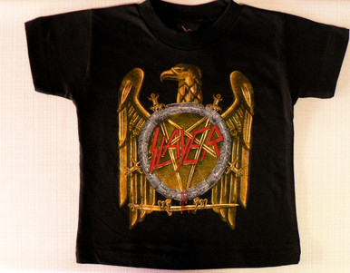Slayer Pentagram Logo Toddler T-Shirt